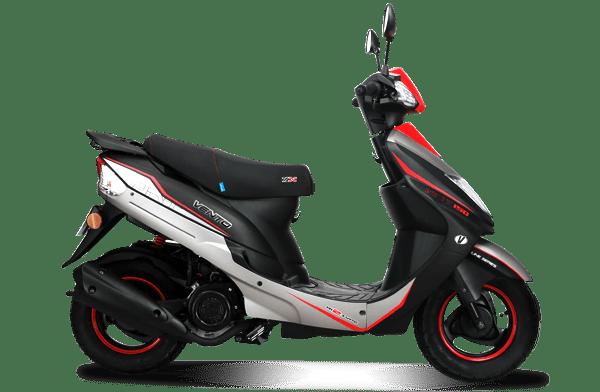 Vento lanza nuevas veloces motocicletas - ant-150-vento