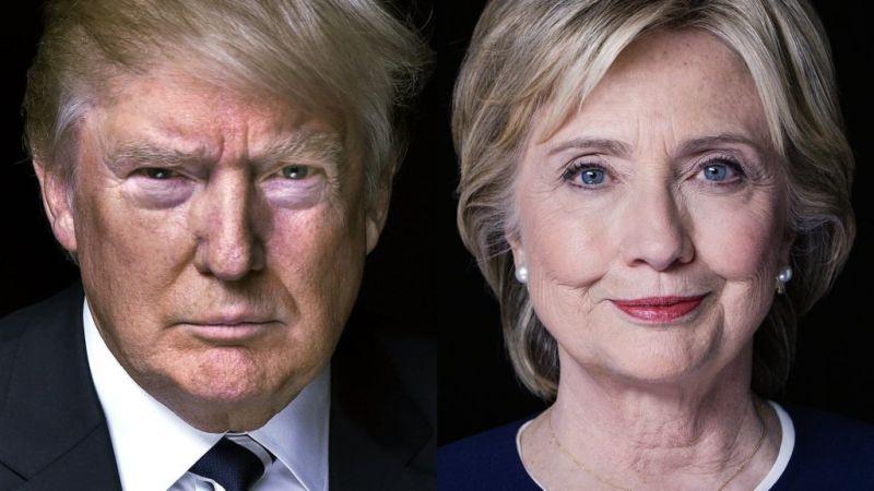 ¿Quién ganaría las elecciones en Estados Unidos según el Big Data? - clinton_trump-800x450