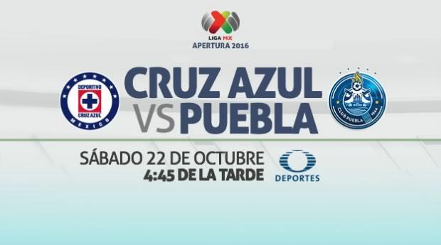 Cruz Azul vs Puebla, Jornada 14 Apertura 2016 | Resultado: 1-2 - cruz-azul-vs-puebla-televisa-deportes-apertura-2016