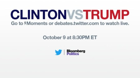 Ve el segundo debate presidencial de EE.UU. en vivo por Twitter