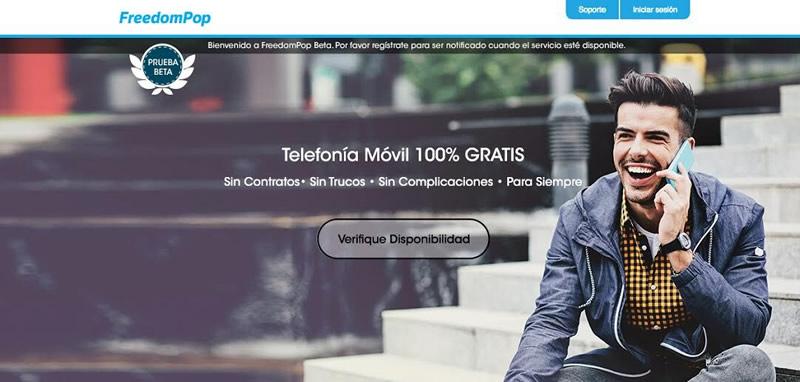 FreedomPop, telefonía móvil 100% gratis llegará a México - freedompop-celular-gratis