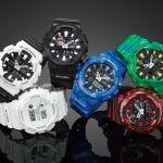 La línea G-LIDE de G-Shock disponibles en seis nuevos diseños - gax-100_theme_1