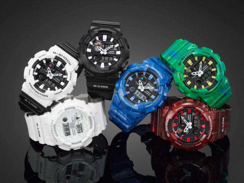 La línea G-LIDE de G-Shock disponibles en seis nuevos diseños - gax-100_theme_1-800x600