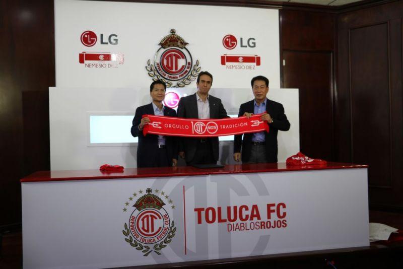 LG colabora como socio tecnológico del Deportivo Toluca FC - lg-colabora-como-socio-tecnologico-del-deportivo-toluca-fc-800x534