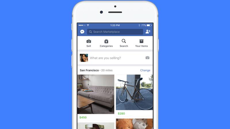 Facebook estrena Marketplace, un espacio de compraventa - marketplace-e1475503299108-800x450