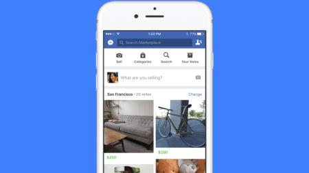 Facebook estrena Marketplace, un espacio de compraventa