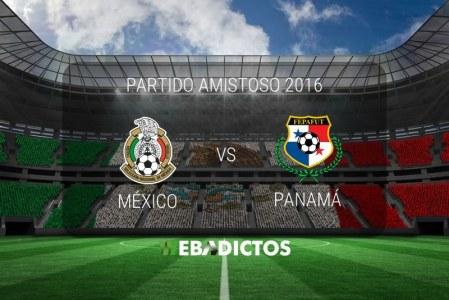 México vs Panamá 2016, partido amistoso | Resultado: 1-0
