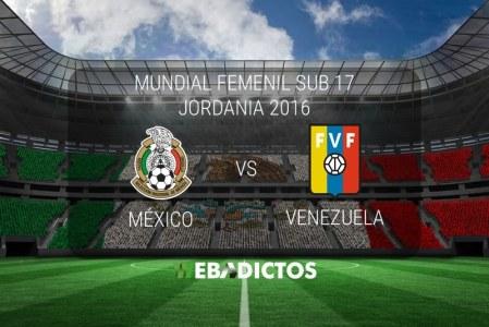México vs Venezuela, Mundial Femenil Sub 17 | Resultado: 1-2