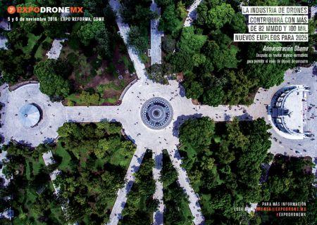 LLega ExpoDroneMx: feria anual de drones más grande de México y América Latina