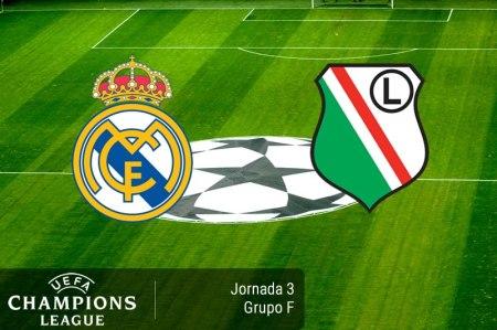 Real Madrid vs Legia, Champions 2016 – 2017   Resultado: 5-1