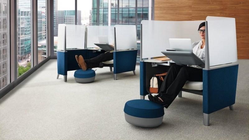 4 tendencias en las oficinas modernas que deber as considerar for Bureau marguerite 4 personnes