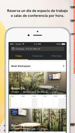App WeWork: conecta con más de 70 mil emprendedores y freelancers alrededor del mundo - aplicacion-de-wework_1