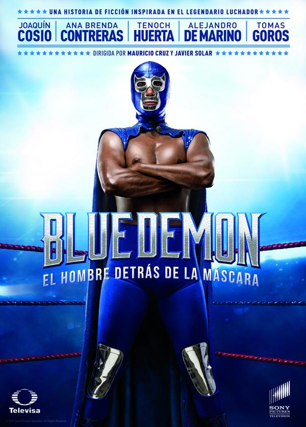Llega en exclusiva a blim: Blue Demon, el hombre detrás de la máscara - cartel-blue-demon1