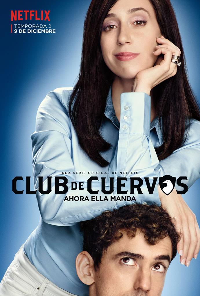 No te pierdas el trailer de Club de Cuervos 2da temporada - club-de-cuervos-2-poster
