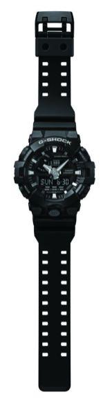 GA700 de G-Shock, nuevo modelo con estilo multidimensional - ga-700_bl