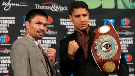 A qué hora es la pelea Pacquiao vs Vargas y en qué canal la pasan