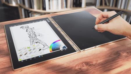 Lenovo Yoga Book, la 2 en 1 más delgada del mundo y con versátil teclado