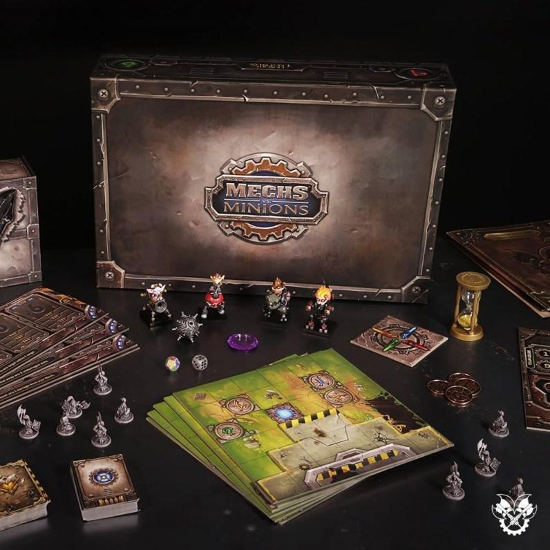 """Riot Games lanza """"Mechs vs. Minions"""", su primer juego de mesa - mech-vs-minions"""