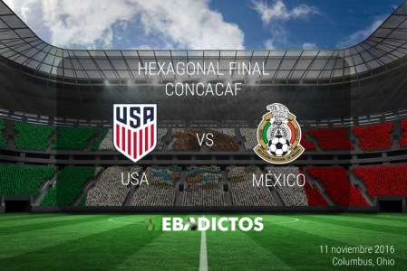 México vs Estados Unidos 2016, Hexagonal CONCACAF | Resultado: 2-1