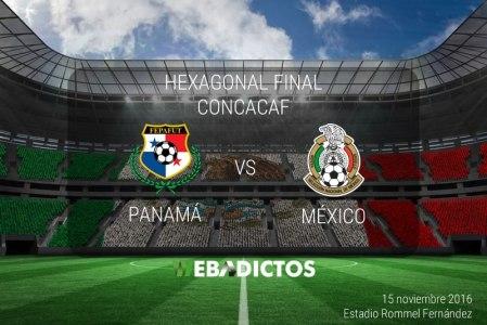 México vs Panamá 2016, Hexagonal CONCACAF | Resultado: 0-0