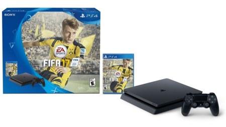 PlayStation 4 Slim 500GB + FIFA 2017, oferta del día en Amazon | Buen Fin 2016
