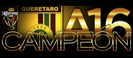Querétaro campeón de la Copa MX Apertura 2016; derrota a Chivas en penales