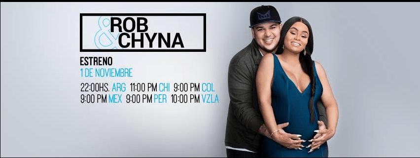 "Hoy estreno de docuserie: ""Rob & Chyna"" por E! Entertainment - rob-chyna"