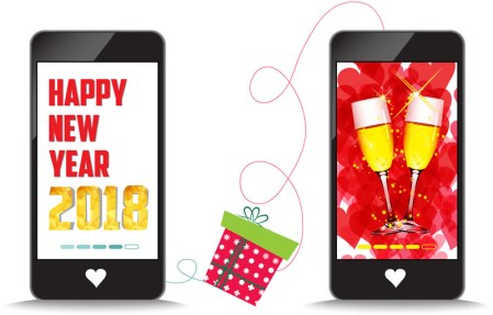5 apps para festejar un feliz año nuevo 2018
