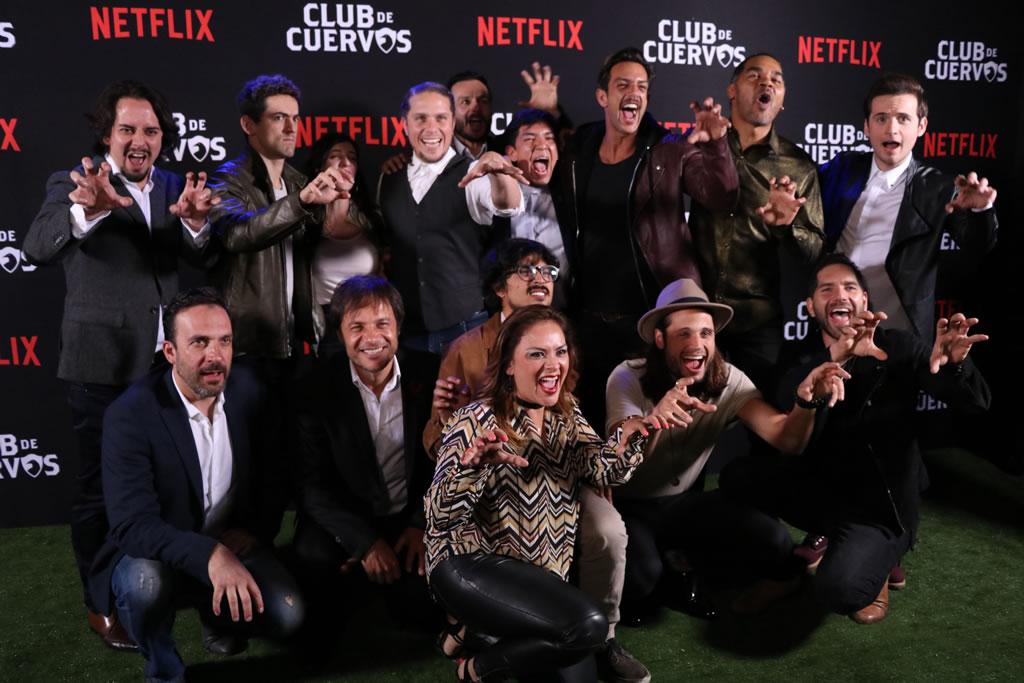 Así celebró Club de Cuervos el lanzamiento de su segunda temporada [Fotos] - cuervo-red-carpet-065