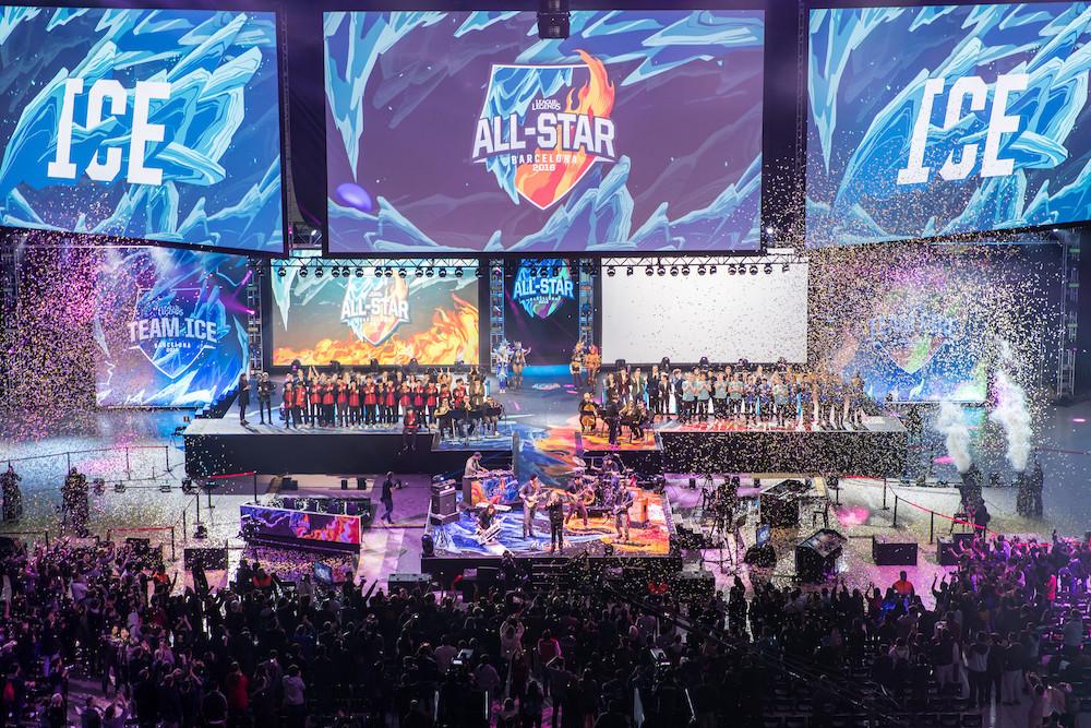 Equipo Hielo se lleva todo en el Evento All-Star 2016 de LoL - fuego-all-stars-2016-league-of-legends