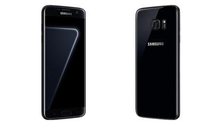 Galaxy S7 Edge ahora vendrá en color Negro Perla