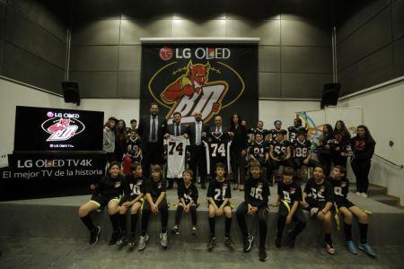 LG OLED Black Demons Las Rozas: La apuesta de LG por el football americano