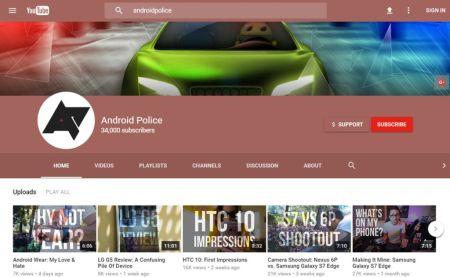 YouTube pone a prueba su nuevo diseño a lo Material Design