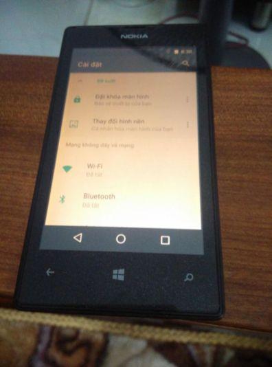 Nokia Lumia 520 logra correr Android 7.1 Nougat - nokia-l-520-nougat