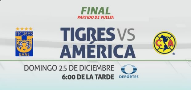 Tigres vs América, Final Apertura 2016   Resultado: 1(3)-(0)1 - tigres-vs-america-en-vivo-final-apertura-2016-vuelta