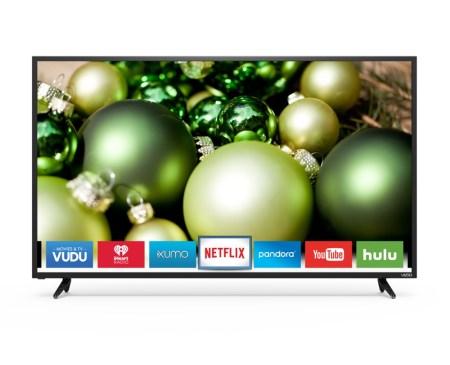 Serie D de Vizio una buena opción de Smart TV para Navidad