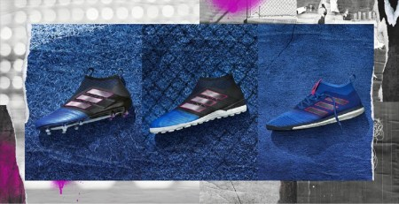 Colección Blue Blast de adidas Football con adaptaciones para la cancha, la jaula y la calle
