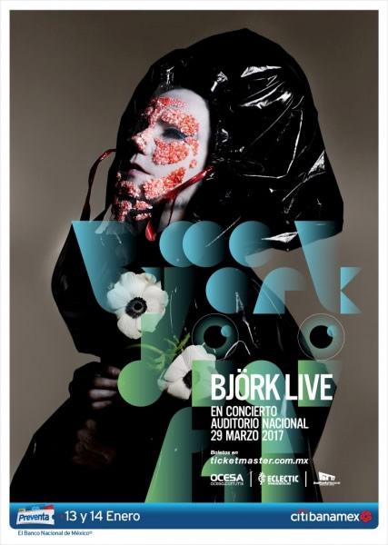 bjork live en mexico 2017 Björk vendrá a México en 2017