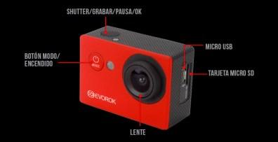 Evorok lanza su segunda generación de cámaras deportivas - ev-07006_enjoy_uso_2_diagrama