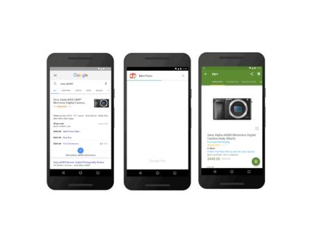 Google empieza a probar Instant Apps