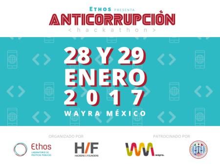 Hackathon Ethos Anticorrupción, desarrollo de herramienta tecnológica contra la corrupción