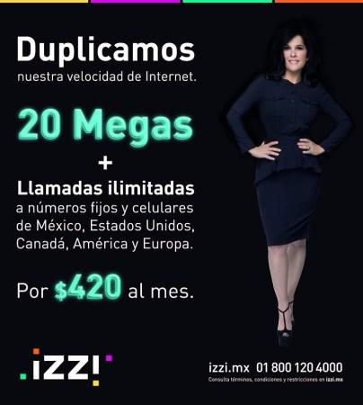 izzi duplica la velocidad de su internet