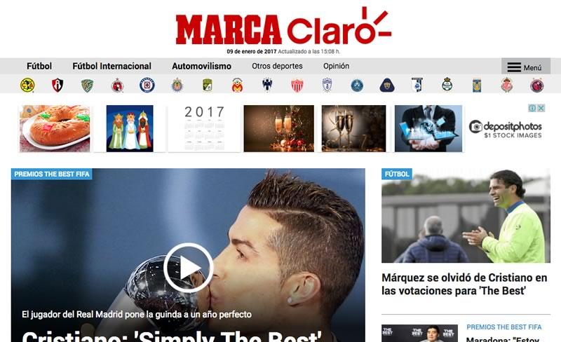 Claro Sports y MARCA buscan crear la mayor plataforma de información deportiva en LATAM - marca-claro-sports