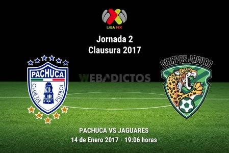 Pachuca vs Jaguares, Jornada 2 del Clausura 2017 | Resultado: 1-0