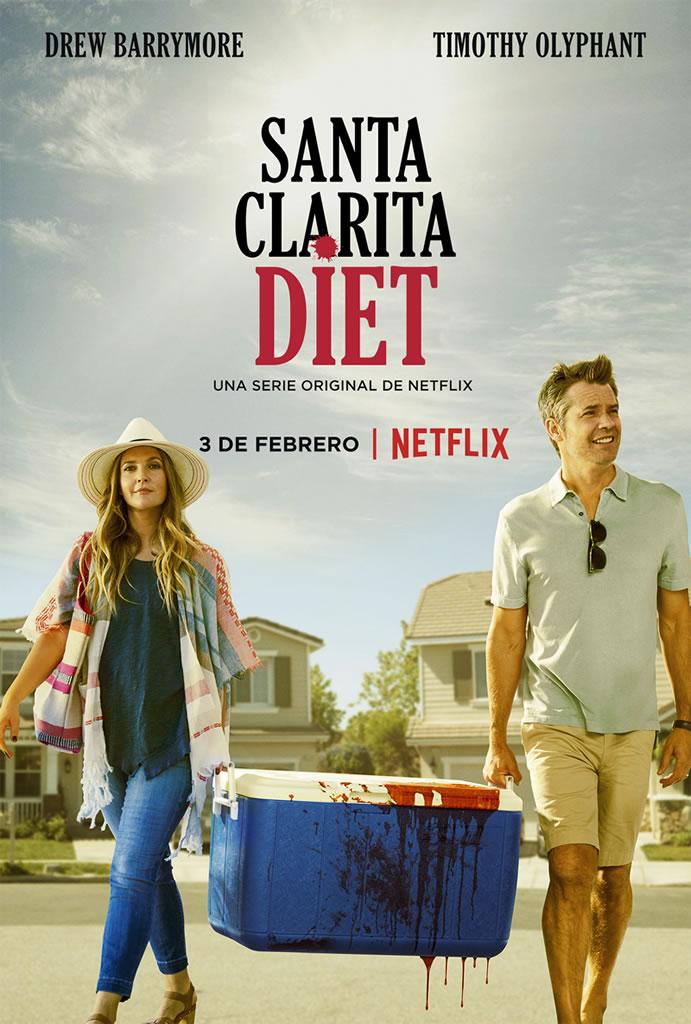 Nuevo trailer y arte principal de Santa Clarita Diet, nueva serie de Netflix - santa-clarita-diet