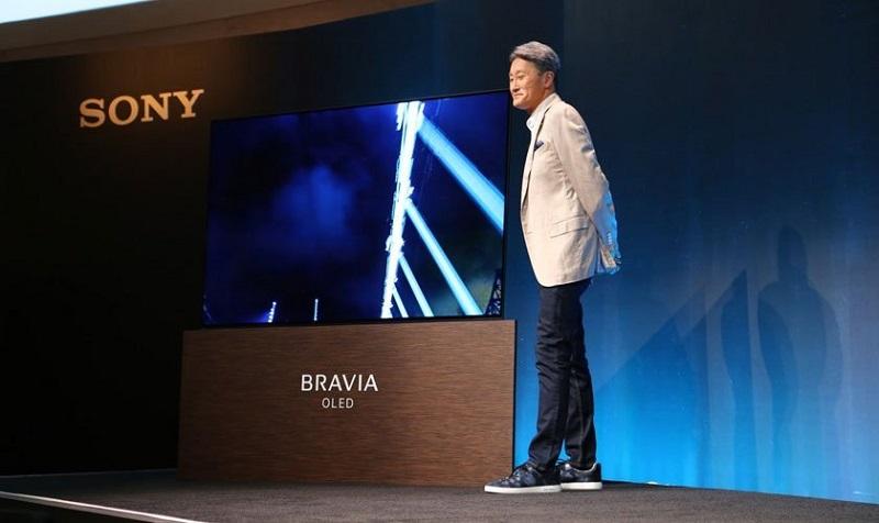 Sony Bravia OLED A1E: Una TV que emite sonido desde la pantalla - sony-800x476