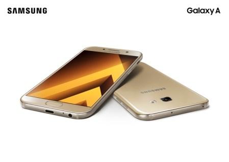 Galaxy A 2017 de Samsung llegan a México