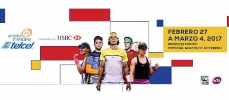 Abierto Mexicano de Tenis 2017 en vivo por ESPN2 y ESPN Play