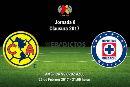 América vs Cruz Azul, Liga MX Clausura 2017 ¡En vivo por internet! | J8
