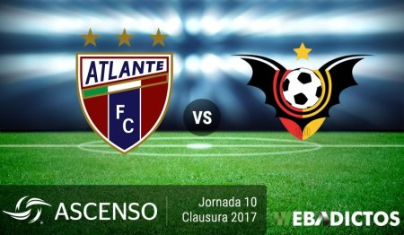 Atlante vs Murciélagos, Jornada 10 Clausura 2017 ¡En vivo por internet! | Ascenso MX